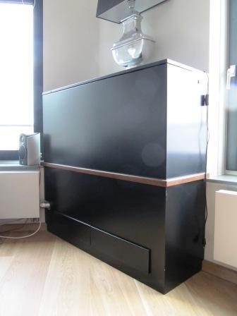 TV meubel met elektrische lift