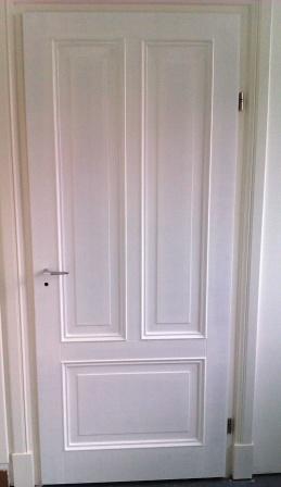 bekleding van standaard vlakke board deur