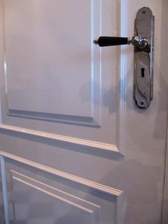 bestaande deuren met oplegpanelen en lijsten