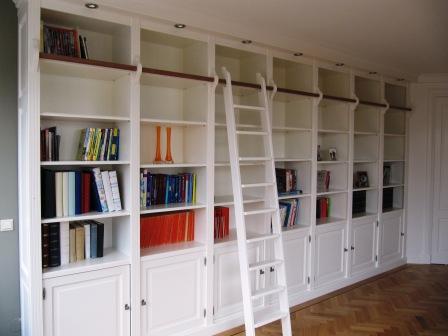 boekenkasten wand van MDF (5)