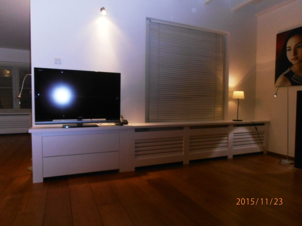 radiatorbekleding met tv meubel
