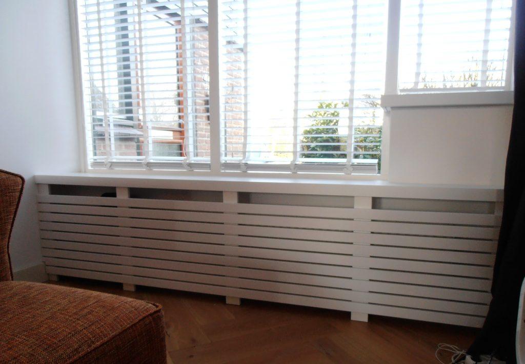 radiatorkast met lattex