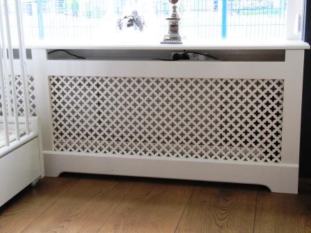 radiatorscherm met perfoplaten