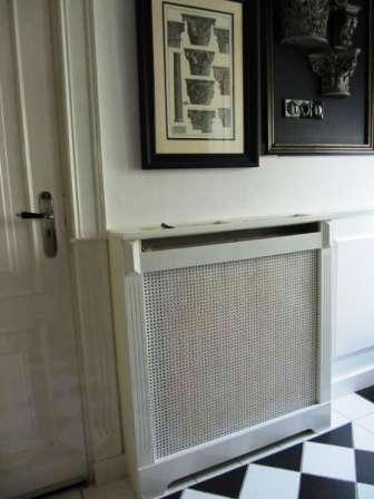 radiatorscherm met webbing
