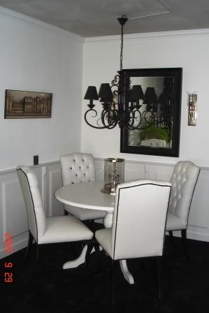 tafel rond wit