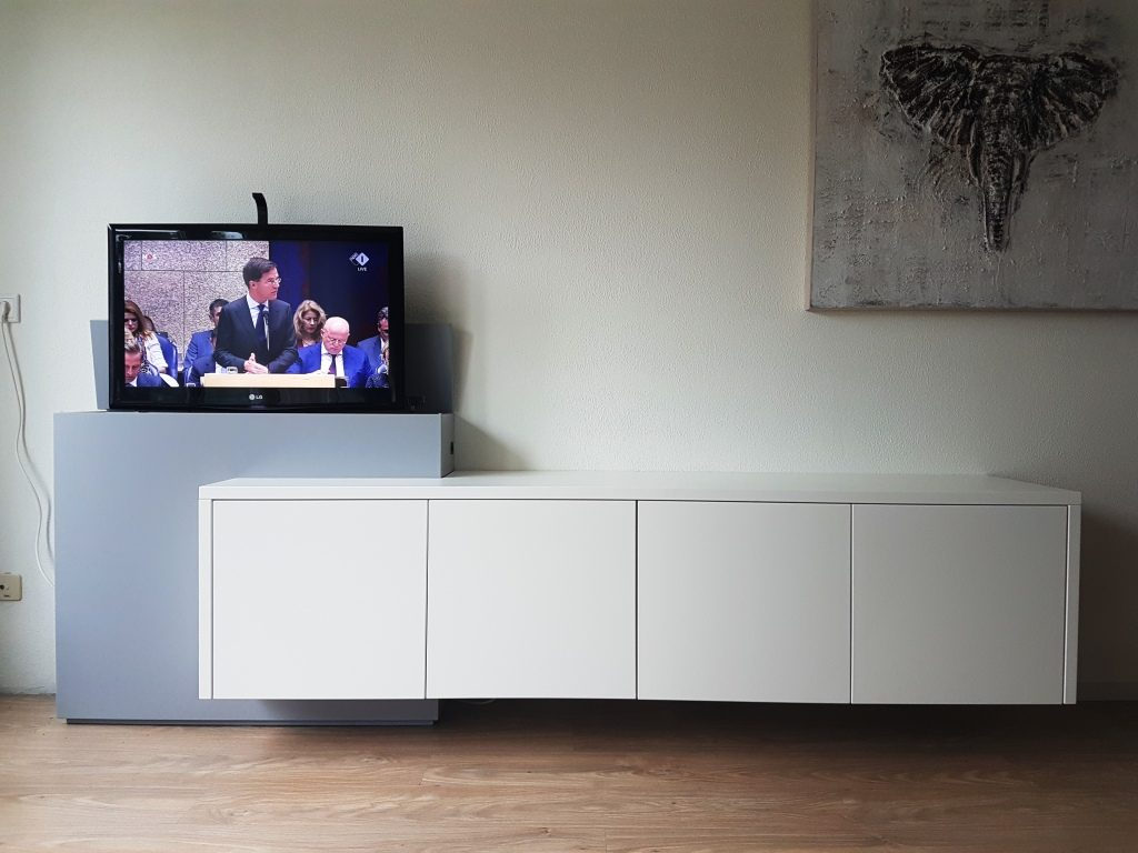 tv meubel met tv lift