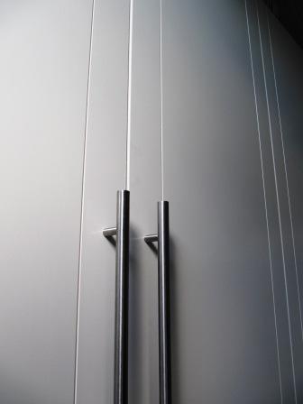 strakke deur fronten