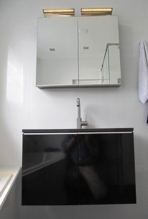 badkamer meubel met spiegelkast
