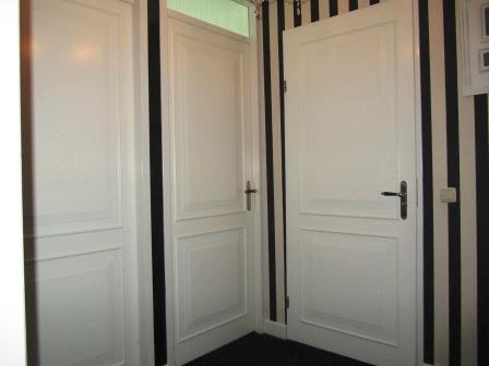 bestaanden deuren bekleed met panelen