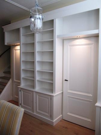 boekenkasten wand van MDF (2)