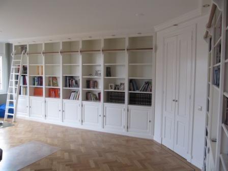 boekenkasten wand van MDF (3)