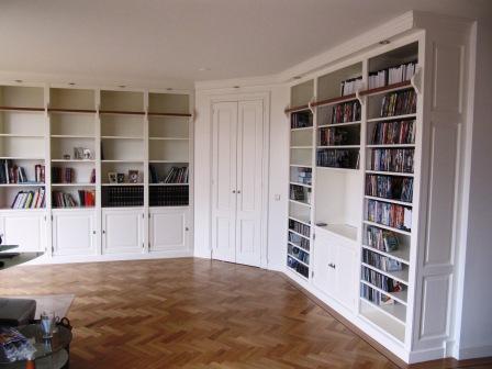boekenkasten wand van MDF (4)