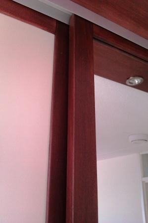 massief mahonie houten deurlijsten