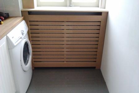 radiatorombouw MDF met lattex (3)