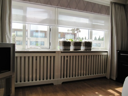 radiatorscherm met lattex (2)