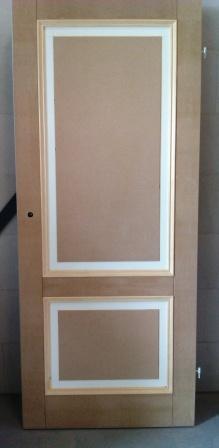 restylen oude opdek deur dmv. panelen